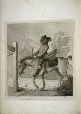 How to lose your way, plate at p. 15 in the book An Academy for grown Horsemen… (London: Hooper and Wigstead, 1796)