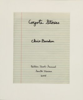Page 1 (Title Page), of the book, Coyote Stories