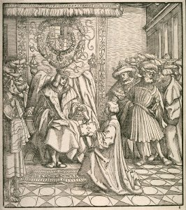Presentation of the Book to the Emperor