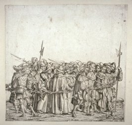 Prisoners Taken in Maxmilian's Wars- 1st group: From The Triumph of Maximilian I