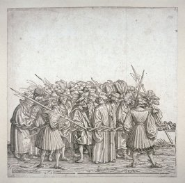 Prisoners Taken in Maxmilian's Wars- 2nd ground: From The Triumph of Maximilian I