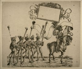 The Master of the Masquerade...from: The Triumph of Maximilian I