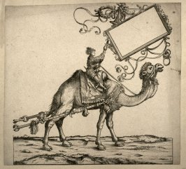 Harnessed dromedary... From: The Triumph of Maximilian I