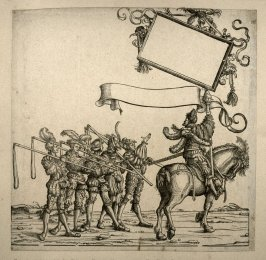 The master of the fencers... From: The Triumph of Maximilian I