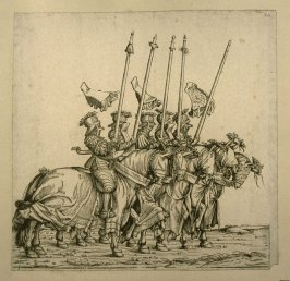"""Bundrennen"". From: The Triumph of Maximilian I"