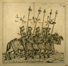 From the series of Rennen. From: The Triumph of Maximilian I