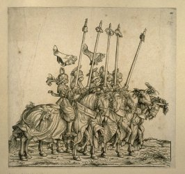 Pfannenrennen. From: The Triumph of Maximilian I
