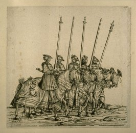 Schweifrennen. From: The Triumph of Maximilian I