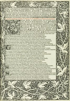 Untitled, in the book The Story of Sigurd the Volsung and the Fall of the Niblungs (Hammersmith: Kelmscott Press, 1898)