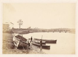 [illegible] Bridge and the Ancient Ferry across the Ribble, Lancashire