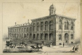 Toland's Medical College, Stockton and Chestnut Street, San Francisco