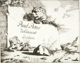 Plate 1 from a series of Leopards