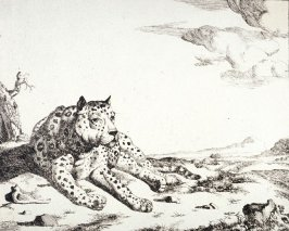 Plate 3 from a series of Leopards