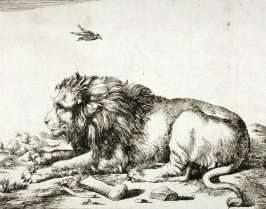 Plate 2 from a series of Lions