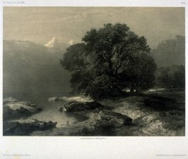 #96, from Fifty lithographs from Oeuvres de A. Calame