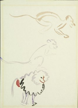 Untitled (Two Monkeys and a Baboon)