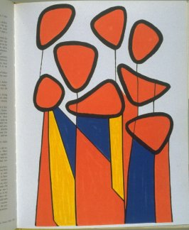 Untitled plate for XXe Siecle at p. 29 in the book Homage to Calder ([New York: Tudor, 1972])