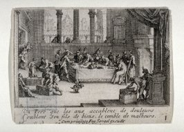 The Prodigal Son-Distribution of the Fortune (1 of 11 plates)