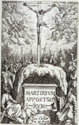 Frontispiece from The Martyrdom of the Apostles
