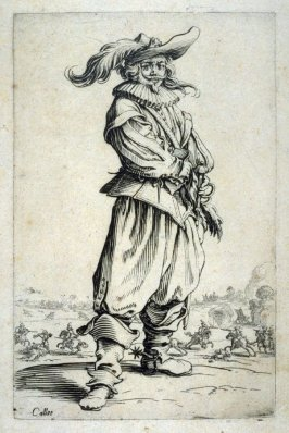 """A Cavalryman, from the series """"Nobility of Lorraine"""""""