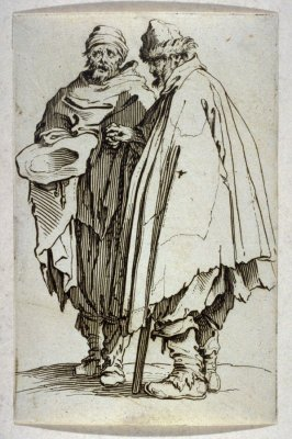 """L'Aveugle et son Compagnon, plate 7 from """"The Beggars"""""""