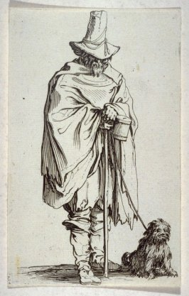 """L'Aveugle et son Chien, plate 21 from """"The Beggars"""""""