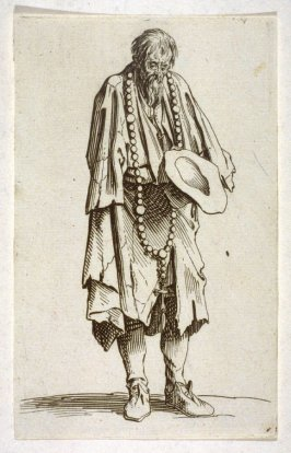 Beggar with a rosary, from The Beggars