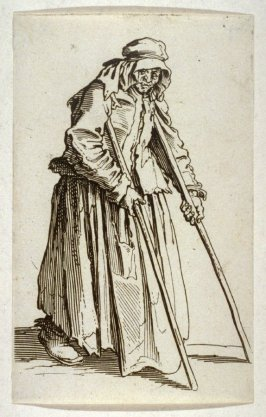 Beggar with crutches, from The Beggars