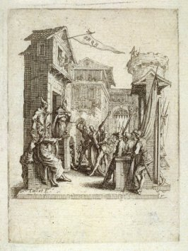 Jesus appears before Pilate, from The Little Passion