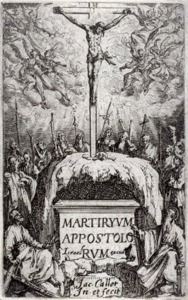 Frontispiece, from The Martyrdom of the Apostles