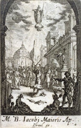 Martyrdom of St Jacques le Majeur, from The Martyrdom of the Apostles