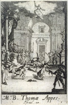 Martyrdom of St Thomas, from The Martyrdom of the Apostles