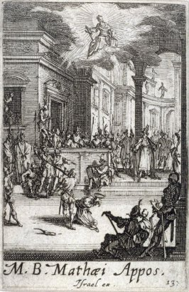 Martyrdom of St Matthew, from The Martyrdom of the Apostles