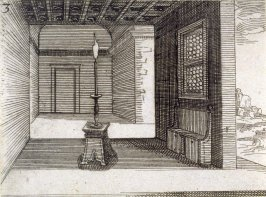 Candlestick, plate 3 from Lux Claustri