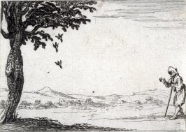 Crow and his Little Ones, plate 5 from Lux Claustri