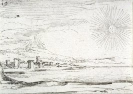 The rising sun, plate 19 from Lux Claustri