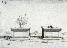 The two hearts, plate 24 from Lux Claustri