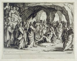 The Resurrection of Lazarus, from The New Testament