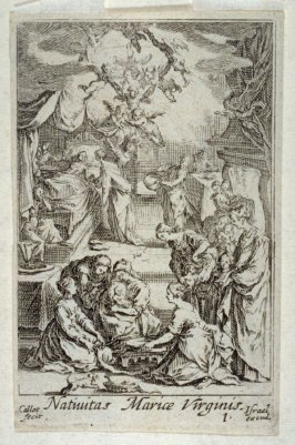 The Birth of the Virgin, from Life of the Virgin