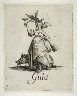 Gluttony, from the Seven Capital Sins