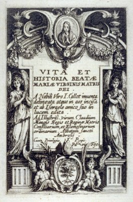 Frontispiece, from The Life of the Virgin