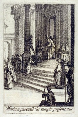 The Presentation of the Virgin in the Temple, from The Life of the Virgin