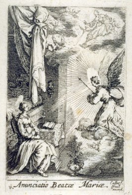 The Annunciation, from The Life of the Virgin