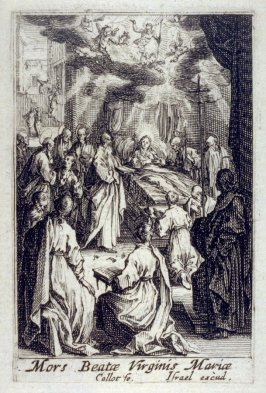 The Death of the Virgin, from The Life of the Virgin
