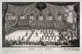The Combat, plate 10 from Le Combat a la Barriere