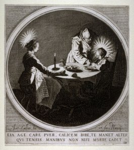 La Benedicite (the Holy Family at Table)