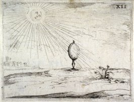 The Rays of the Sun, plate 13 from Life of the Virgin in Symbols