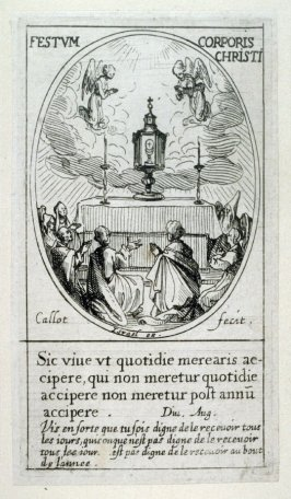 Le Saint-Sacrement de l'autel Festum Corporis Christi), from Images of Movable Feasts (Les Fetes Mobiles)