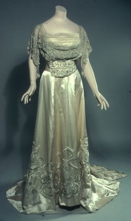Evening dress: bodice