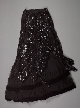 Evening dress: skirt